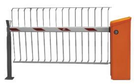 Magnetic.Access Schranke mit Übersteigschutz 1,3m Höhe